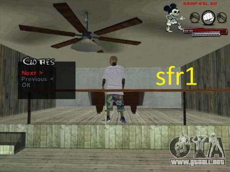 Pieles Surenos 13 para GTA San Andreas sucesivamente de pantalla