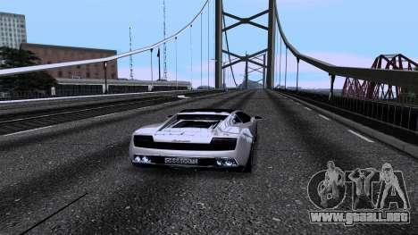New Roads v2.0 para GTA San Andreas octavo de pantalla