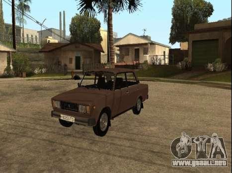 VAZ 2105 versión temprana para GTA San Andreas