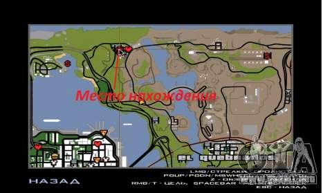 Casa nueva de Sijia en El Quebrados v1.0 para GTA San Andreas sucesivamente de pantalla