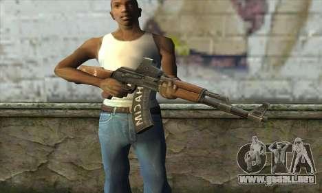 Point Blank AK47 Elite para GTA San Andreas tercera pantalla