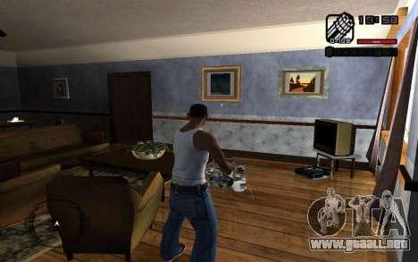 C-HUD by Smoke para GTA San Andreas segunda pantalla
