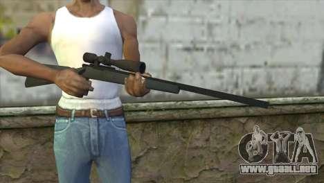 M40A1 Sniper Rifle para GTA San Andreas tercera pantalla