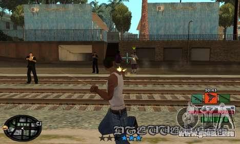 C-HUD Rainbow para GTA San Andreas tercera pantalla
