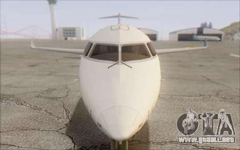 Garuda Indonesia Bombardier CRJ-700 para GTA San Andreas vista hacia atrás