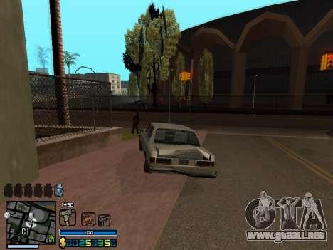 C-HUD By Stafford para GTA San Andreas octavo de pantalla