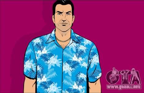 Inicio pantallas de GTA Vice City para GTA 5