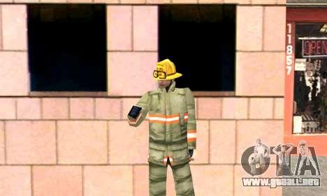 Realista de la estación de bomberos de Los Santo para GTA San Andreas sucesivamente de pantalla