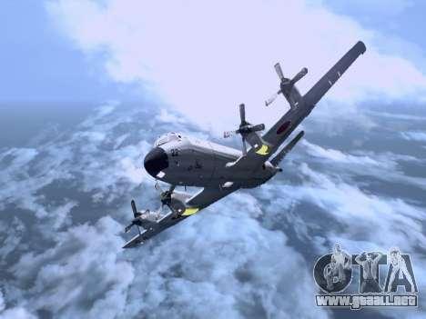 Lockheed P-3 Orion FAJ para GTA San Andreas left