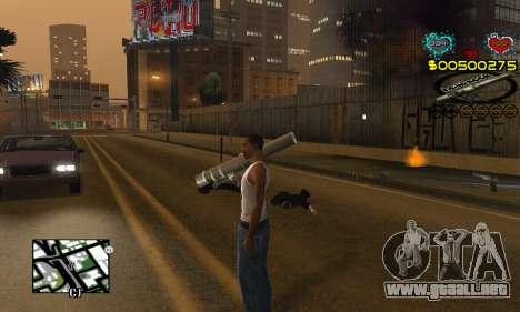 C-HUD New Liberia para GTA San Andreas tercera pantalla