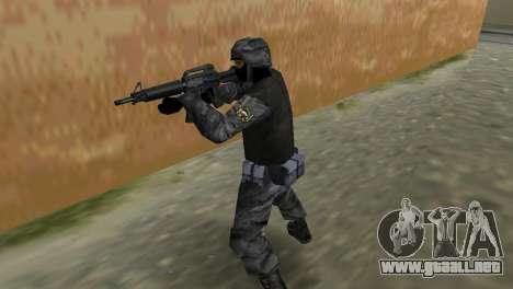 Luchador de Spetsnaz ruso de CS:CZ para GTA Vice City sucesivamente de pantalla