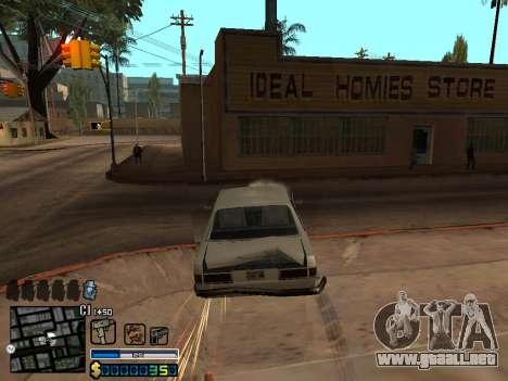 C-HUD By Stafford para GTA San Andreas séptima pantalla