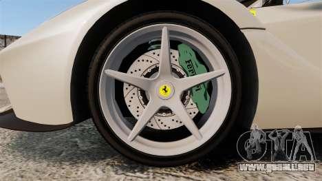 Ferrari LaFerrari Spider v2.0 para GTA 4 vista hacia atrás