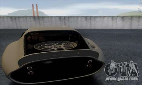Shelby Cobra Daytona para GTA San Andreas vista hacia atrás
