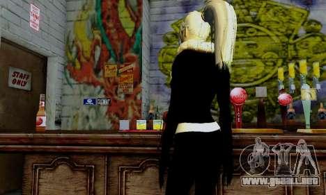 Catwoman para GTA San Andreas octavo de pantalla