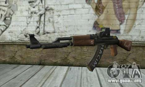 Point Blank AK47 Elite para GTA San Andreas