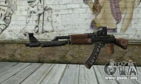 Point Blank AK47 Elite para GTA San Andreas