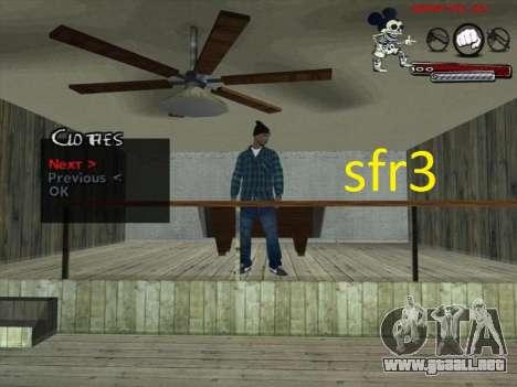 Pieles Surenos 13 para GTA San Andreas tercera pantalla