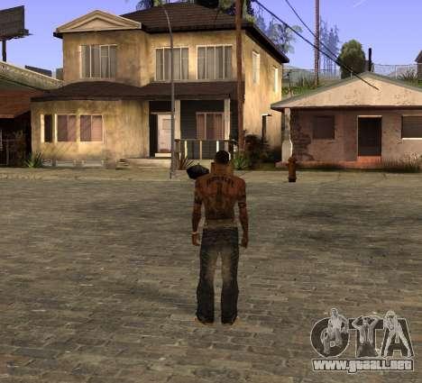 Nuevos jeans para CJ para GTA San Andreas segunda pantalla