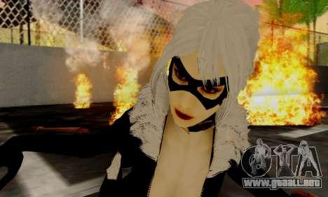 Catwoman para GTA San Andreas sucesivamente de pantalla