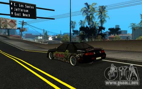Nissan Silvia S14 Monster Energy KENDA Tire para GTA San Andreas left