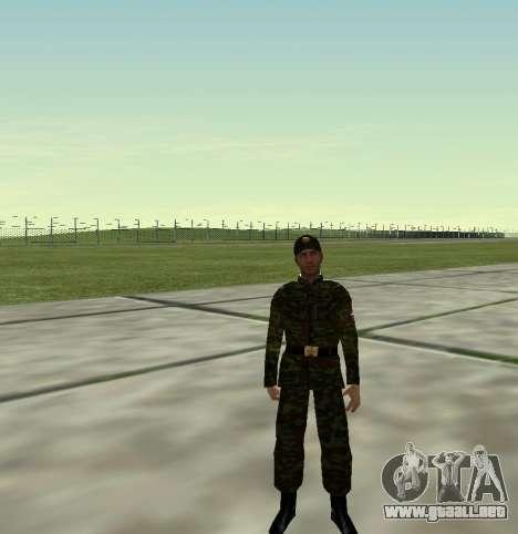 Combatiente del Ejército ruso v 2.0 para GTA San Andreas