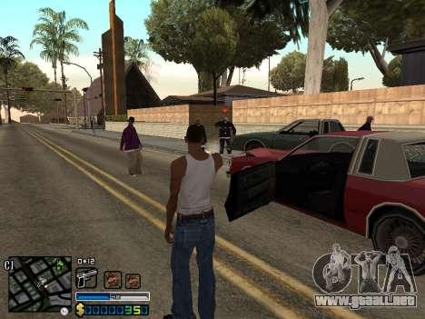 C-HUD By Stafford para GTA San Andreas quinta pantalla