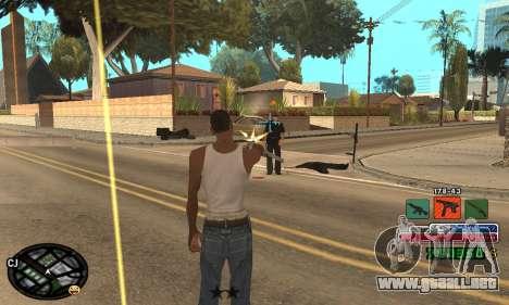C-HUD Rainbow para GTA San Andreas sexta pantalla