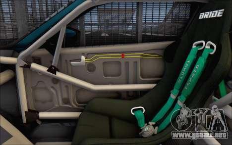 Scion FR-S 2013 Beam para GTA San Andreas interior