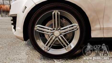 Audi Q7 FCK PLC [ELS] para GTA 4 vista hacia atrás