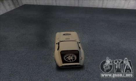 Shelby Cobra Daytona para la visión correcta GTA San Andreas