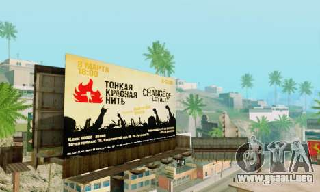 Alternativa Trimestre para GTA San Andreas