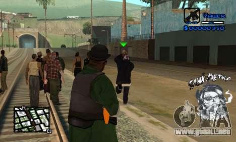 C-HUD Tawi Detka para GTA San Andreas tercera pantalla