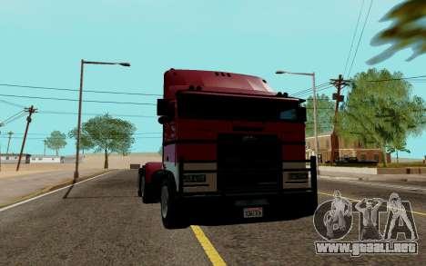 JoBuilt Transportista Fixet из GTA 5 para GTA San Andreas