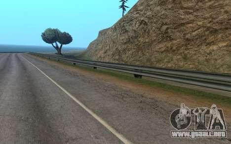 RoSA Project v1.3 Countryside para GTA San Andreas tercera pantalla