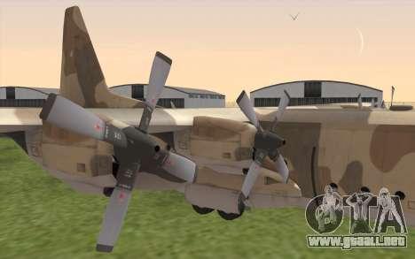 C-130H Hercules para la visión correcta GTA San Andreas