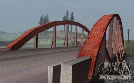 RoSA Project v1.3 Countryside para GTA San Andreas undécima de pantalla