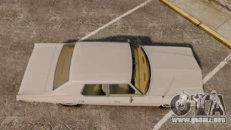 Dodge Monaco 1974 para GTA 4 visión correcta