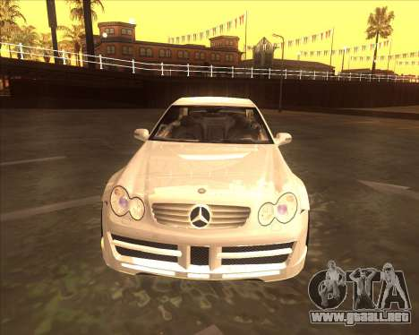 Mercedes CLK 500 из NFS most Wanted para GTA San Andreas left
