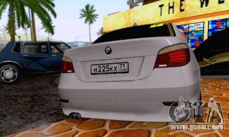 BMW 530xd para visión interna GTA San Andreas