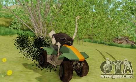 Ostrich From Goat Simulator para GTA San Andreas