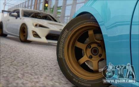 Scion FR-S 2013 Beam para GTA San Andreas left