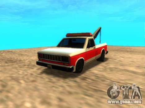 Nuevo Remolque (Bobcat) para GTA San Andreas left