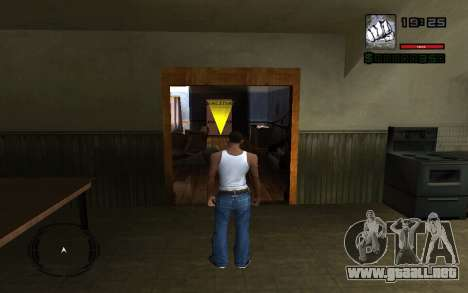 C-HUD by Smoke para GTA San Andreas