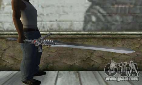 DMC 4 Rebelion para GTA San Andreas tercera pantalla