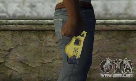 Taser Gun para GTA San Andreas tercera pantalla