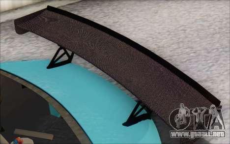 Scion FR-S 2013 Beam para la vista superior GTA San Andreas