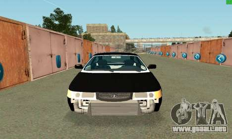 VAZ-21123 TURBO-Serpiente para GTA San Andreas left