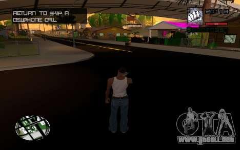 C-HUD by Smoke para GTA San Andreas tercera pantalla