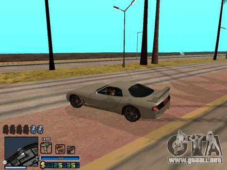 C-HUD By Stafford para GTA San Andreas novena de pantalla